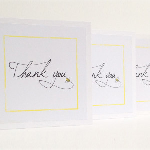 Busy Bee Thank You Cards