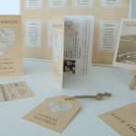 Vintage Heart Passport Invitation & Placecard